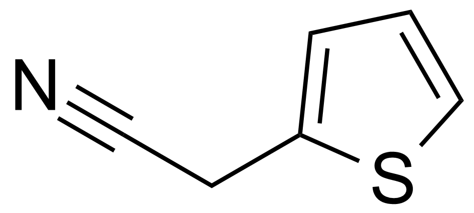 Structure of 2-Thiopheneacetonitrile