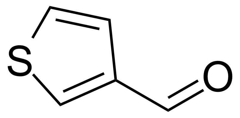 Structure of 3-Thiophenecarboxaldehyde