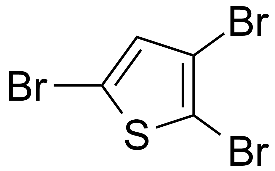 Structure of 2,3,5-Tribromothiophene