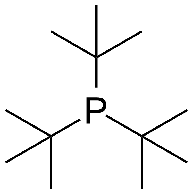 Structure of Tri-tert-butylphosphine