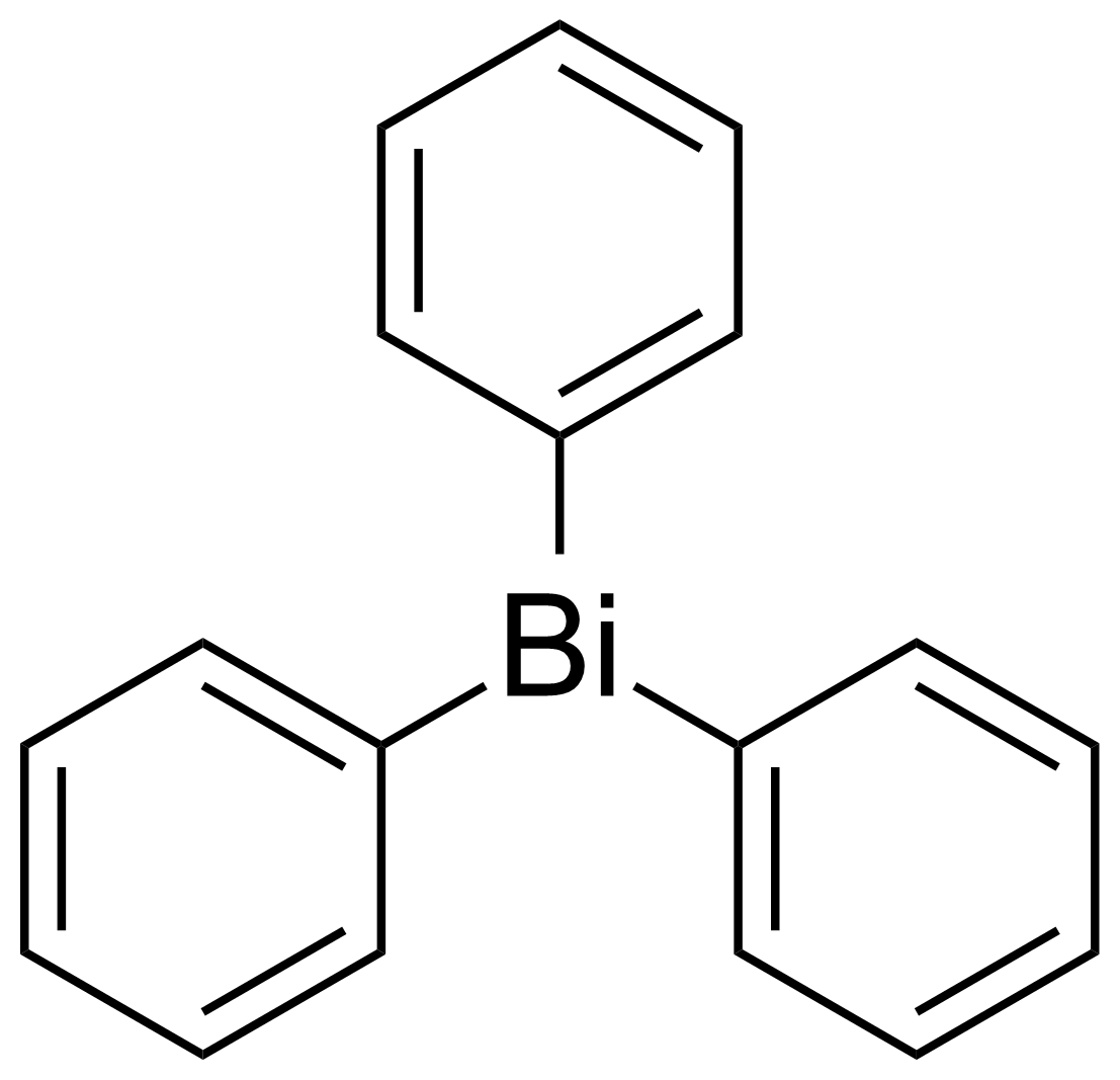 Structure of Triphenylbismuth