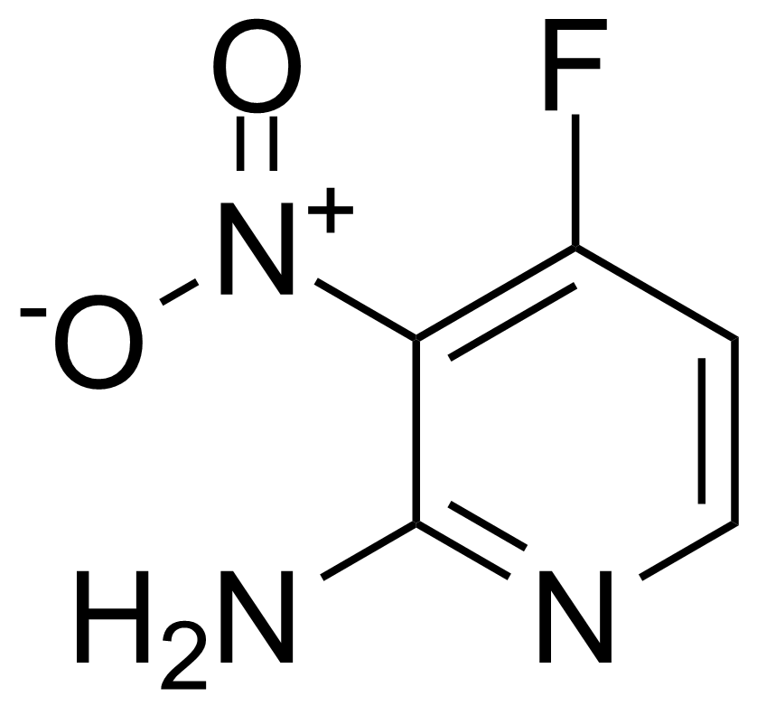 Structure of 2-Amino-3-nitro-4-fluoropyridine