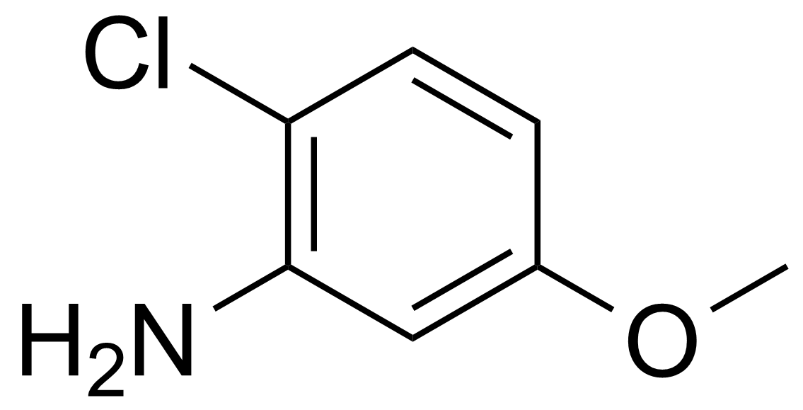 Structure of 6-Chloro-m-anisidine