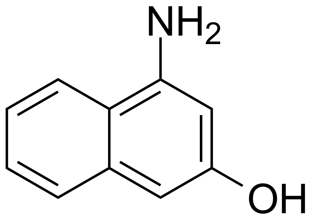 Structure of 4-Amino-2-naphthol
