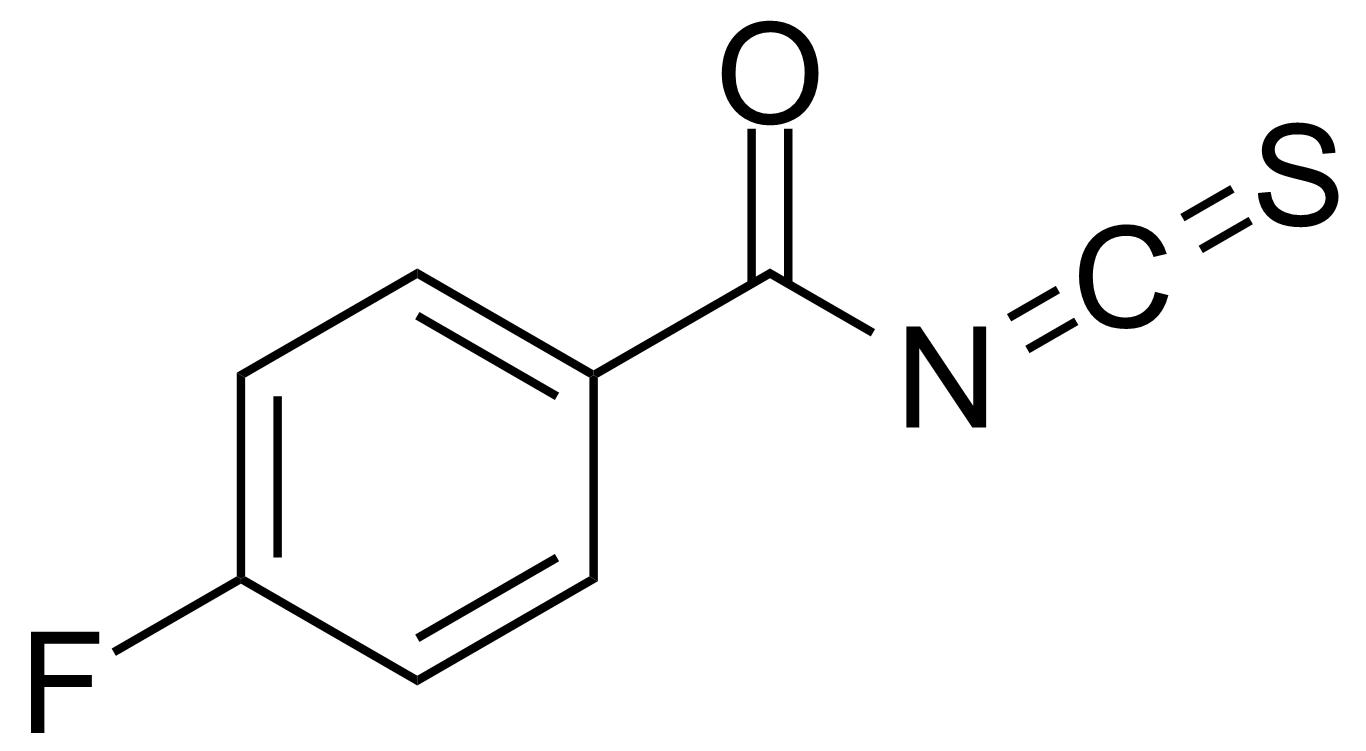 Structure of 4-Fluorobenzoyl isothiocyanate