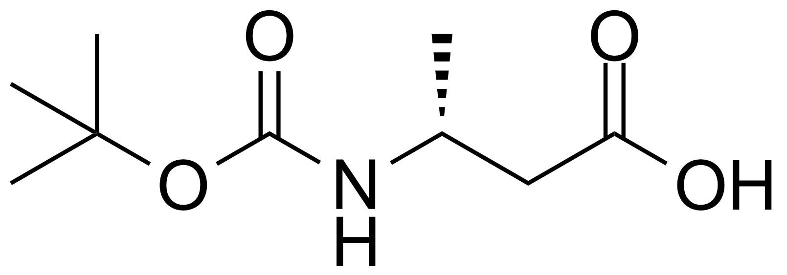 Structure of Boc-L-beta-Homoalanine