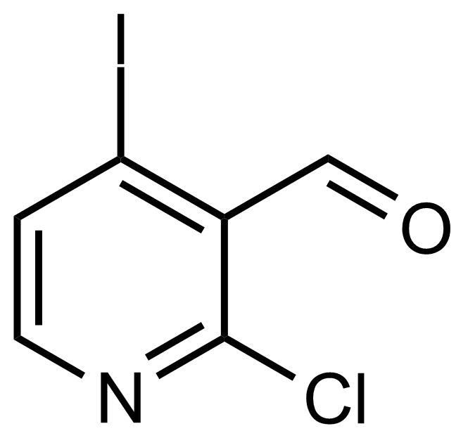 Structure of 2-Chloro-4-iodopyridine-3-carboxaldehyde