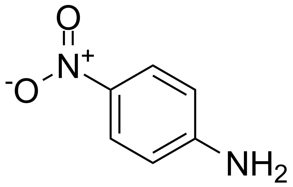 Structure of 4-Nitroaniline