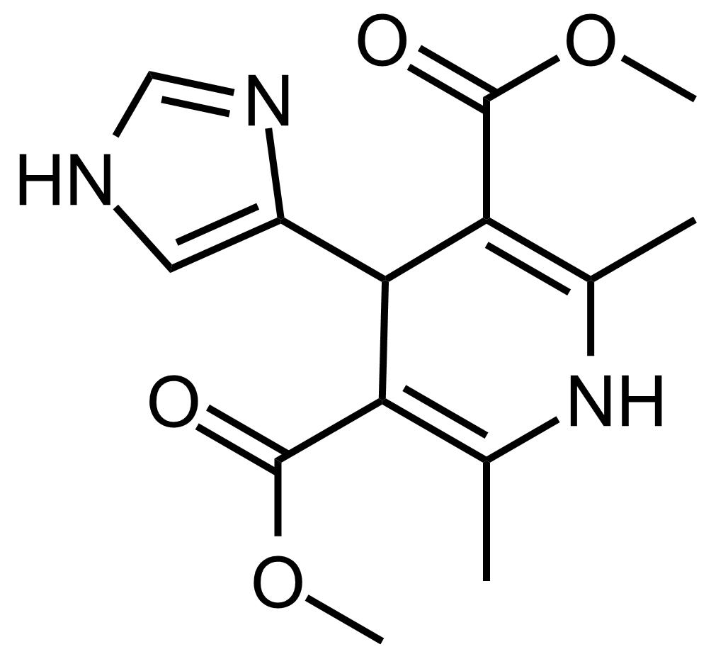 Structure of Dimethyl 4-(1H-imidazol-4-yl)-2,6-dimethyl-1,4-dihydropyridine-3,5-dicarboxylate