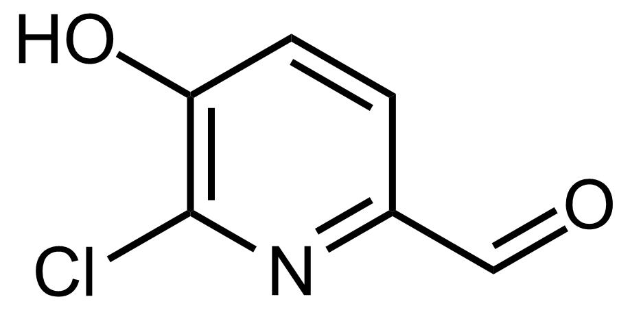 Structure of 6-Chloro-5-hydroxypicolinaldehyde