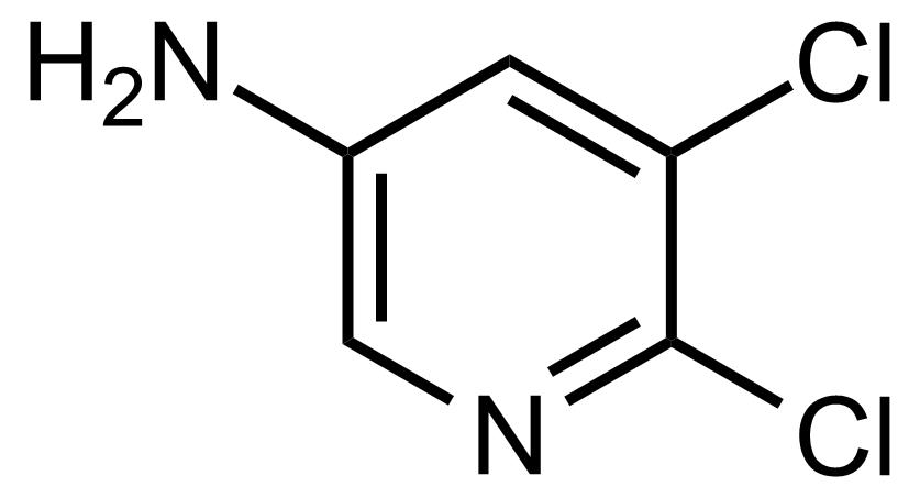 Structure of 5,6-Dichloropyridin-3-amine