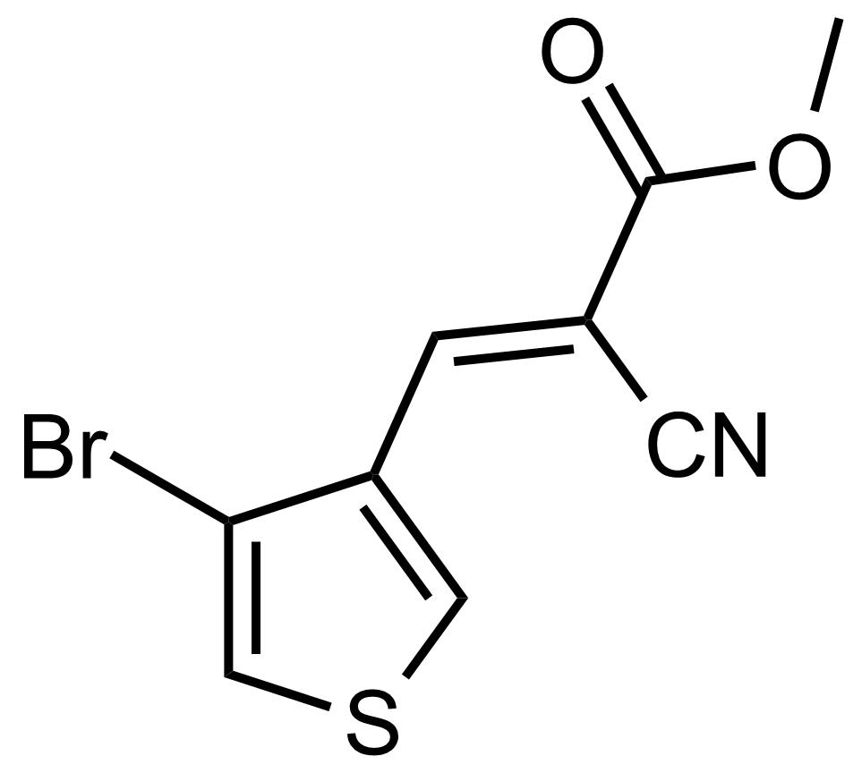 Structure of (E)-Methyl 3-(4-bromothiophen-3-yl)-2-cyanoacrylate