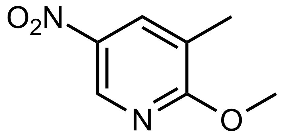 Structure of 2-Methoxy-3-methyl-5-nitropyridine
