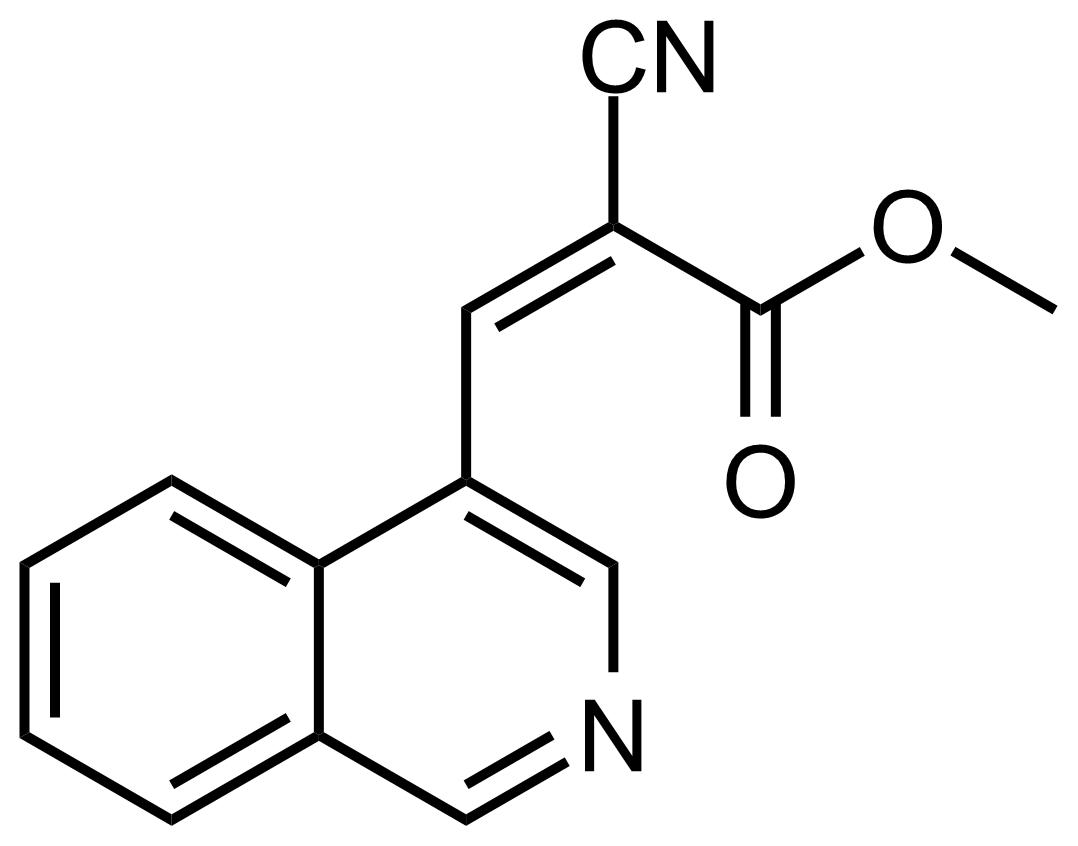 Structure of (Z)-Methyl 2-cyano-3-(isoquinolin-4-yl)acrylate