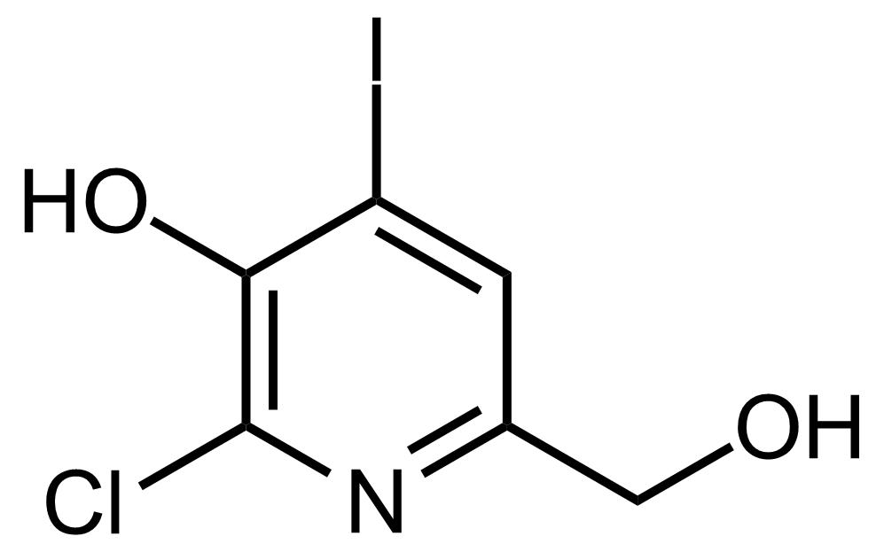 Structure of 2-Chloro-6-(hydroxymethyl)-4-iodopyridin-3-ol