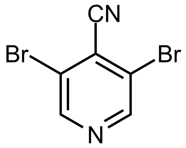 Structure of 3,5-Dibromoisonicotinonitrile