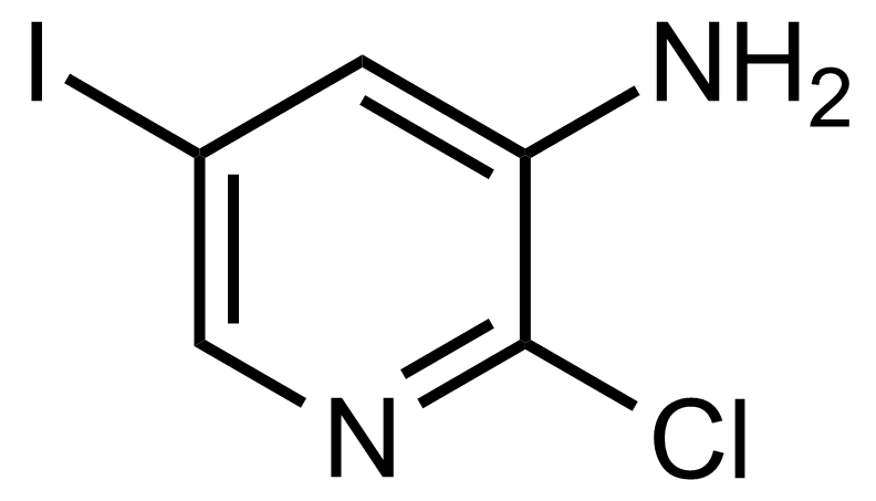 Structure of 2-Chloro-5-iodopyridin-3-amine