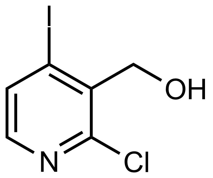 Structure of (2-Chloro-4-iodopyridin-3-yl)methanol