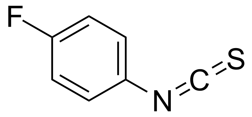 Structure of 4-Fluorophenyl isothiocyanate