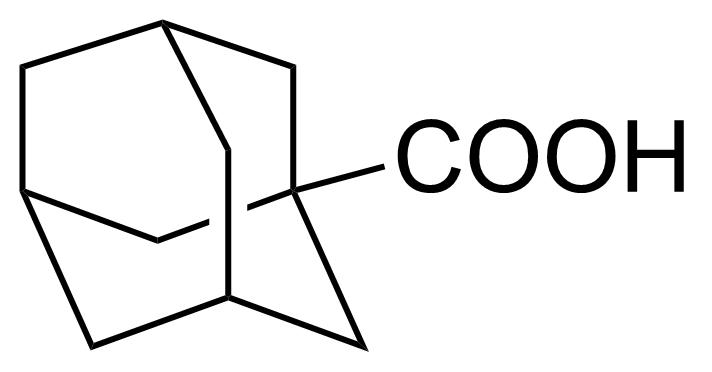 Structure of 1-Adamantanecarboxylic acid