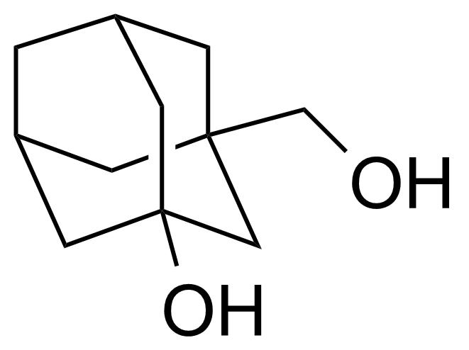 Structure of 3-(Hydroxymethyl)-1-adamantol