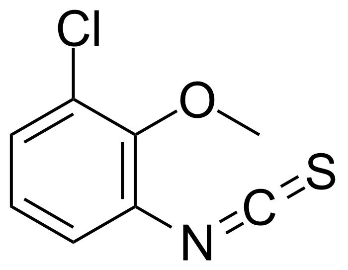 Structure of 1-Chloro-3-isothiocyanato-2-methoxybenzene