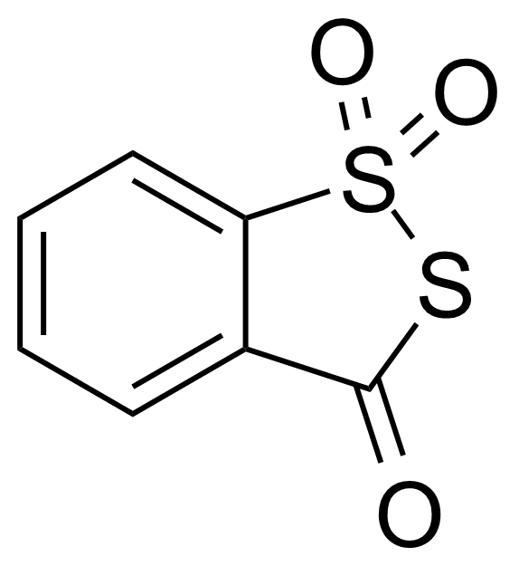 Structure of 3H-1,2-Benzodithiol-3-one 1,1-dioxide