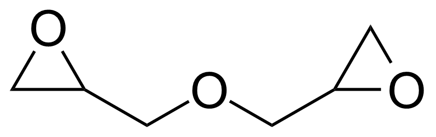 Structure of Diglycidyl ether